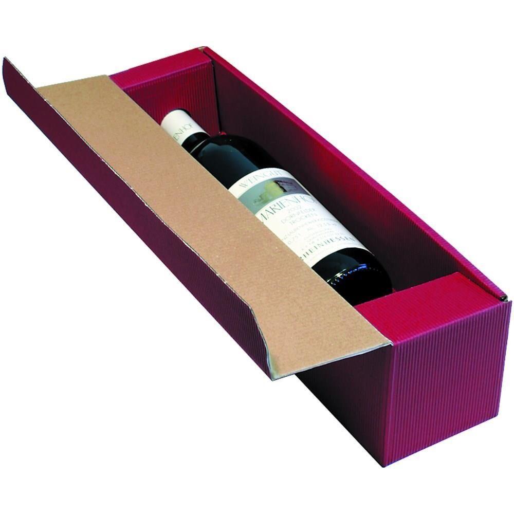 deluxe wellpapp geschenkverpackung f r flaschen verpackung kaufen bei verpackung. Black Bedroom Furniture Sets. Home Design Ideas