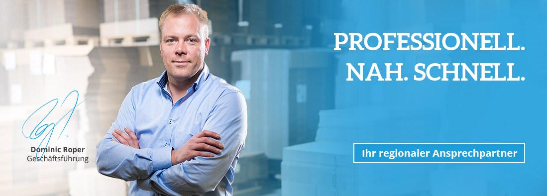 Dominic Roper, Geschäftsführer Verpackung Roper GmbH & Co. KG